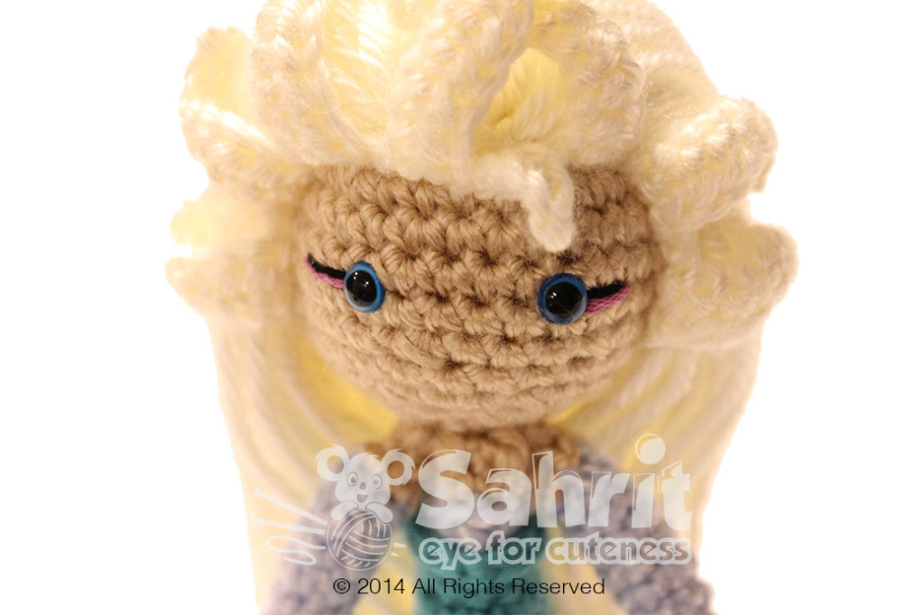 Elsa Frozen Amigurumi Doll Pattern by Sahrit Sahrit in ...